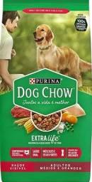 Ração dog chow 20kg