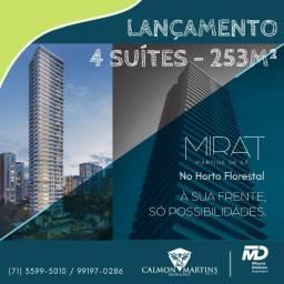 Mirat - Apartamento 4 suítes, 4 vagas 253m², Horto Florestal