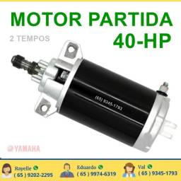 motor de partida yamaha 40 hp  2 tempo