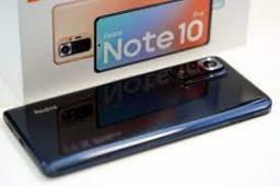 Note 10 pro 128/8ram preto, azul