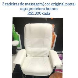 Cadeira de massagem vibratoria