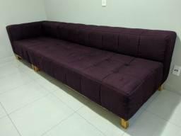 Vendo Sofá 4 lugares modular