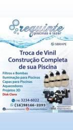 Requinte Piscinas - Vendedor Pedro