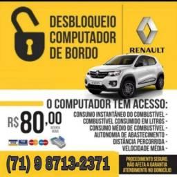 Título do anúncio: Possui Renault Kwid? Ativamos seu Computador de Bordo. Ganhe Muitas Funções no seu Painel