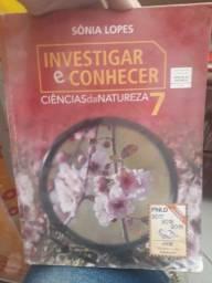 Livro investigar e conhecer ciencias da natureza 7