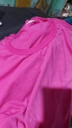 Camisa Baby Look / Pink / Malha PP