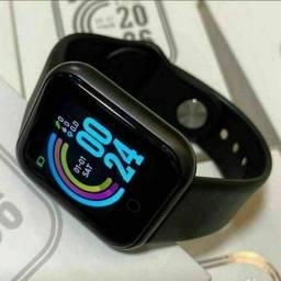 Relógio Smart D20 Pro - NOVO (Monitor de saúde, redes sociais, esportes)