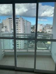 Título do anúncio: Centro: apartamento nascente; 2 qtos (1 suíte); todo com tela de proteção.