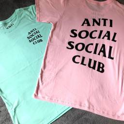 Camisas anti social, high, Adidas, Nike, atacado