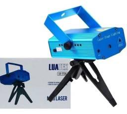 Mini Projetor Laser Holográfico Festa Luatek Lk173<br><br>