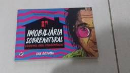 Livro Hq Imobiliária Sobrenatural Dan Goldman