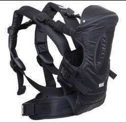 Título do anúncio: Cangurú, mochila para bebê! NUK Novinha!