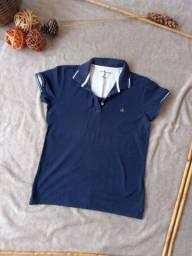 Título do anúncio: Camisa pólo feminina Calvin Klein original usada