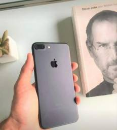 Oferta!! Celular iPhone 7 Plus 128GB Vitrine Original Apple Impecável Garantia Brindes 18x