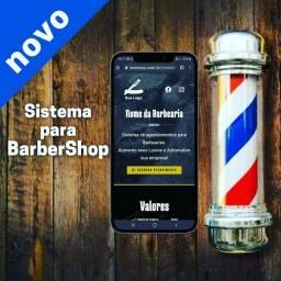 Sistema para Barbearias barbershop aplicativo Site