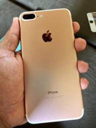 iPhone 7 Plus Rose na Caixa 32g
