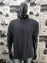 Camiseta Linho Polo By Ralph Lauren Tam G Original Cód 2092