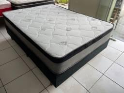 Título do anúncio: cama box casal padrão - entregamos