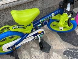 Título do anúncio: Liquida Bicicleta aro 12 infantil para 3 anos