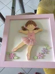 Título do anúncio: Kit decoração infantil Bailarina