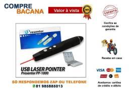 Apresentador De Slides Laser Com Controle Remoto Presenter Pp-1000