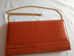 Bolsa carteira em couro nova