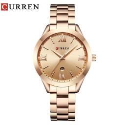 Relógio feminino de luxo *** Cor rosê ***