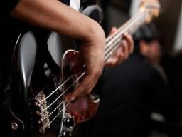 Estou formando uma banda de rock precisa se de baixista