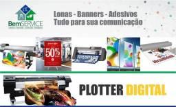 Letreiros, Banners, Anúncios