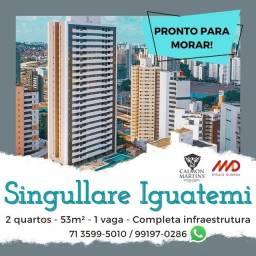 Oportunidade - Residencial Singullare Iguatemi, 2 quartos 53m²