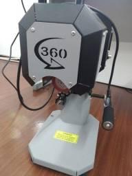 Máquina 360 longdrinks, caneta..