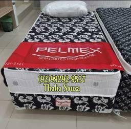 Título do anúncio: $Cama Box Solteiro D28 Semi|Firme//+ Frete Grátis Manaus @