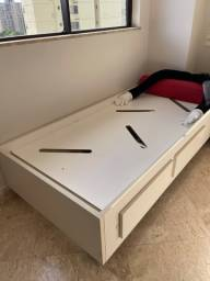 Box para cama de solteiro