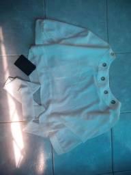 Blusa nunca usada, tamanho M ainda com etiqueta,marca miss Dorothy comprei no valor 150