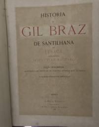 História De Gil Bráz De Santilhana, Edição Monument
