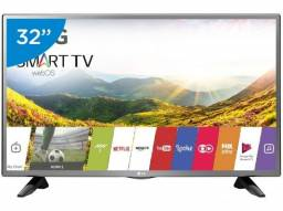 "Smart Tv Led 32"" Hd Lg com Wi-Fi, Webos 3.5, Time Machine Tela Ips"