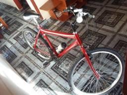 Bicicleta Semi Nova com marcha