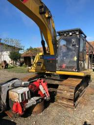 Harvester logmax 6000 cat 315D 2014