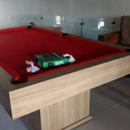 Mesa 3em1 sinuca/jantar e ping pong direto de fabrica 51 9894 77 393 whats
