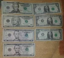 Troco R$43 Dólares por Reais