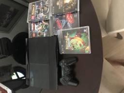 Vendo PS3 + jogos (pouco uso)