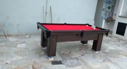 Mesa de Bilhar | Sinuca | Pebolim | Carteado | Jantar | Comercial Mod pv1145