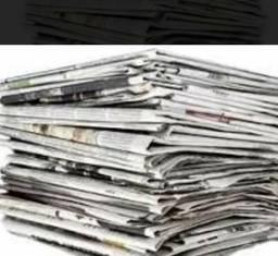 Jornal usado. pact** 10 kg. 25 $
