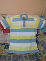 Bermuda e camisa
