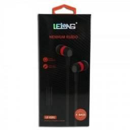 Fone De Ouvido Lelong Nenhum Ruido Le0201 Com Microfone