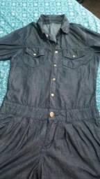 Macaquinho jeans (SÓ VENDA)