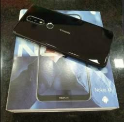 Nokia X6 64gb/ 6gb ram na caixa completo aceito cel inferior/pagto cartão