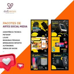 Artes para redes sociais, logomarcas personalizadas, petshop, canil, bulldog, pedgree