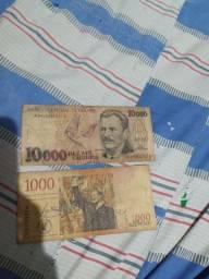 Cedulas de dinheiro