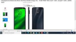 Moto G6 Play Plus com Nota fiscale garantia 30 dias